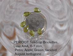 Peridot drops