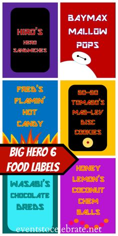 Big Hero 6 Activity Pack — Wayne Wonder Children's Parties in Buckinghamshire, Berkshire, Hertfordshire, Oxfordshire
