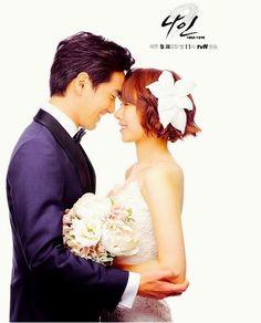 Lee Jin Wook and Jo Yoon Hee in Nine: Nine Time Travels