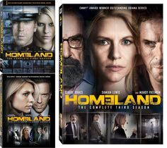 Homeland Seasons 1-3 DVD Set $49.99