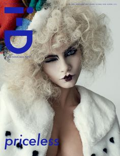 Cara Delevingne Channels Effie Trinket Of 'The Hunger Games' On The Cover Of i-D Magazine