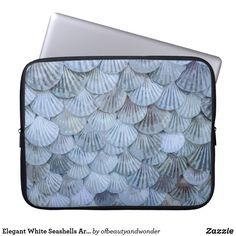 Choose from a variety of Elegant laptop sleeves or make your own! Shop now for custom laptop sleeves & more! Custom Laptop, Best Laptops, Personalized Products, Seashells, Laptop Sleeves, Your Photos, Elegant, Artwork, Collection