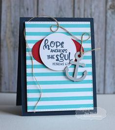Hope by Jen Shults, handmade card | Deconstructingjen.com Stamps and dies from Taylored Expressions