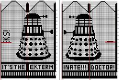Mittens -- Doctor - it's the Daleks