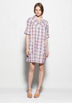 madras. wear with yellow shoes.