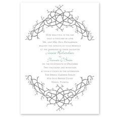 nature's celtic knot wedding invitation | irish wedding invites at Ann's Bridal Bargains