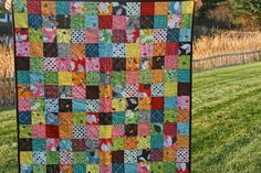 lovely patchwork quilt