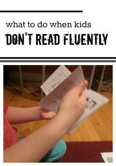 It's hard to know what to say when kids struggle with reading out loud, but fluency practice can actually be a lot of fun! Reading Help, Reading Lessons, Reading Resources, Reading Strategies, Reading Skills, Reading Activities, Reading Intervention, Kindergarten Reading, Teaching Reading