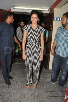 Ranveer Singh and Deepika Padukone at PVR | PINKVILLA