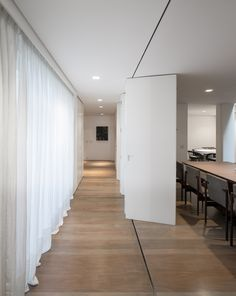 This is exactly the wall/door system I want for the office space. I really do not want to see hinged bifold doors