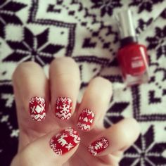 sweater nails.