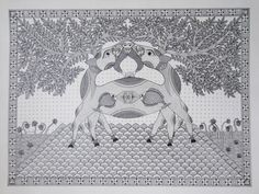 MITHILA_Pradyumna.jpg (1920×1442) madhubani