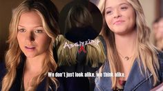"""We all know Alison played the role of entering the house and going up the stairs, they want us to believe it to be Ali … but CeCe mentioning this """"Not only do we look alike, we think alike to,"""" in the Season 5 premiere has made me think that perhaps the writers are tricking us. While we are seeing that this person is truly Alison from a visual stance, because the two girls are supposed to look alike it is actually CeCe Drake. And her sitting in Radley pretending to be Ali? Coincidence? I…"""