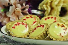 HomeKreation - Kitchen Corner: Tartlet Filling I - Durian Cheesetart Cheese Tarts, Kitchen Corner, Cookie Desserts, Sushi, Waffles, Cheesecake, Strawberry, Snacks, Cookies