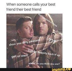 supernatural, funny, comedy, cringe, tumblr