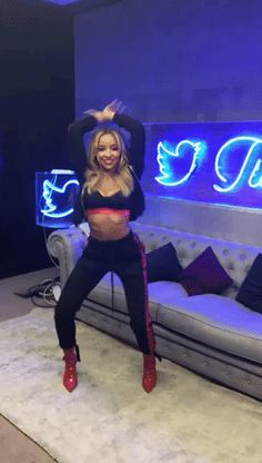 New party member! Tags: dance dancing excited dancer flame tinashe rcarecordsuk rca records uk