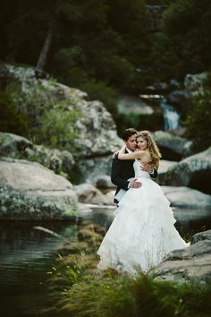 Waterfalls and weddings - Photo from The Wanderers Wedding Couple Photos, Wedding Couples, Wedding Ideas, Posing Couples, Couple Posing, Man Photography, Receptions, Waterfalls, Newlyweds