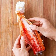 Regal crab legs, with their rich, sweet meat, are ideal for entertaining and special occasions. Since they are almost always precooked, simply boil the legs to warm them through and serve with melted butter. Get our no-fail tips for how to cook crab legs. Cooking Frozen Crab Legs, Cooking Crab Legs, Crab Boil Party, Crab Legs Recipe, Crab Dishes, Boiled Food, Crab Recipes, Dinner Recipes, Recipes