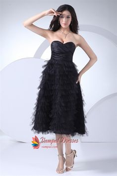 Short Black Cocktail Dresses With Feathers
