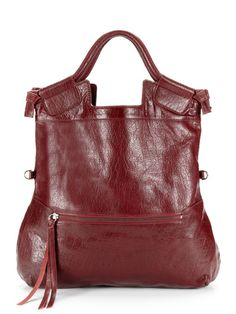 venom mid city tote   foley & corinna   $219   haven't you heard? oxblood is the color of the season. surely venom sounds just as violent
