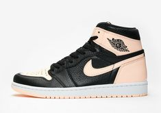 33d73e6a43361a 2018 Nike Air Jordan 1 Retro High OG SZ 8 Black Crimson Tint White 555088-