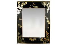 LaBarge Reverse-Painted Glass Mirror on OneKingsLane.com
