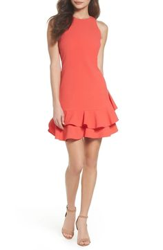 online shopping for Tiered Ruffle Hem Dress from top store. See new offer for Tiered Ruffle Hem Dress Moda Instagram, Casual Dresses, Prom Dresses, Shower Outfits, Long Cocktail Dress, Different Dresses, Tulle Dress, Nordstrom Dresses, Affordable Fashion