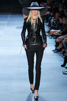 Saint Laurent Spring 2013 Ready-to-Wear Fashion Show - Linn Arvidsson (Viva)