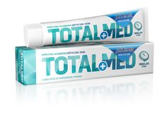 Plidenta TotalMed is toothpaste with long-lasting action to total daily protection of teeth and gums. Prevents tooth decay, plaque and tartar build-up, strengthens gums, has an antibacterial effect, whitens teeth, freshens breath, remineralises and protects against cavities, and helps maintain strong and healthy teeth. It contains no preservatives. Active ingredients: Pentasodium Triphosphate, Xylitol, Zinc Citrate, Allantoin, Sodium Fluoride (0,29%), PVM/MA Copolymer