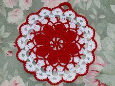 #crochet potholder - free pattern