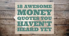 Money quotes and pearls of wisdom that might not show up in your Twitter feed...yet.