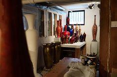 View of the studio. Zen, Contemporary Ceramics, Sculpture, Studio, Home Decor, Atelier, Studios, Interior Design, Sculpting