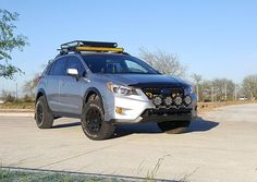 """This beast.. Owner: @rude__dee  2"""" lift by @anderson_design_fabrication  #subaru…"""