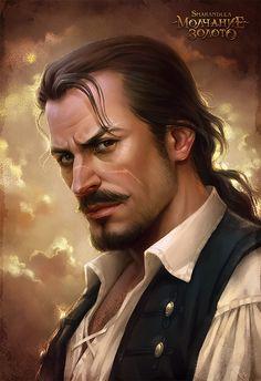 Captain Henry Hartgold (Silence is Gold) by sharandula.deviantart.com on @DeviantArt