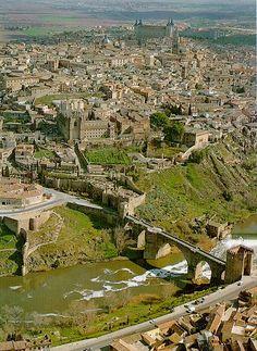 Vista de Toledo, España