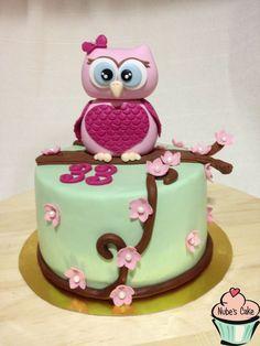 decoracion de tortas con lechuzas - Buscar con Google