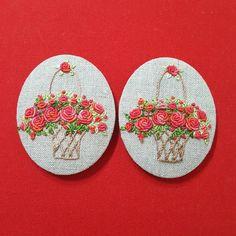 "133 Likes, 6 Comments - 건대프랑스자수 steady_embroidery (@steady_embroidery) on Instagram: ""#Embroidery #handmade #gachi"""