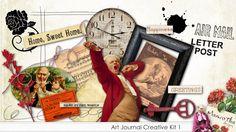 Art Journal Creative Kit 1 - elements