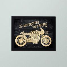 Quadro de Moto Decorativo - Decor Quadros - decore com arte!