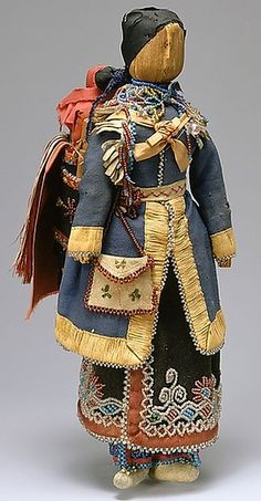 Native American Mother and Child Doll.