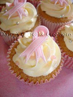 breast cancer awareness ribbon cupcake | Flickr - Photo Sharing!
