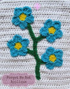 Knot Your Nana's Crochet: Fairy Garden Themed Blanket