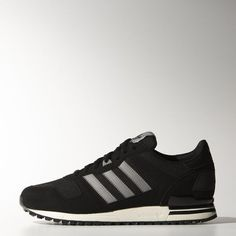 new concept e4ffb e3807 Adidas Originals ZX 700 Core Black   Ch Solid Grey   Bold Onix Mens Shoes  Adidas