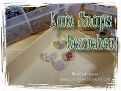 runde Kam Snaps (Druckknöpfe) mit Stoff beziehen / + Wie rettet man falsch angebrachte Kam Snaps - MissZuckerguss - kreatives recycling
