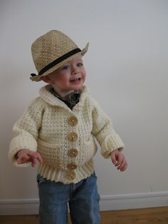 Ravelry: Little Collared Sweater pattern by Julie Lapalme