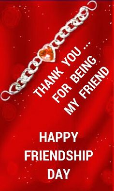 HAPPY FRIENDSHIP DAY More