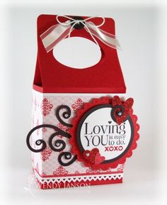 Valentine Gable Box - It's All About Stamping