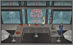 All New Deco Objects Robot Factory, War Machine, Sims, Objects, Deco, Mantle, Decor, Deko, Decorating