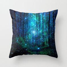 forest pillow/trees pillow/fantasy pillow,forest throw pillow/amazing throw pillow/fantastic throw pillow/sky pillow/forest home decoration