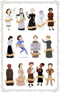 Print of famous women in history: Image is inches on glossy medium weight paper Print comes signed. Colors will vary slightly due to calibration differences in monitors. Good Woman, Great Women, Amazing Women, Intersectional Feminism, Feminist Art, Badass Women, Rosa Parks, Famous Women, Famous People